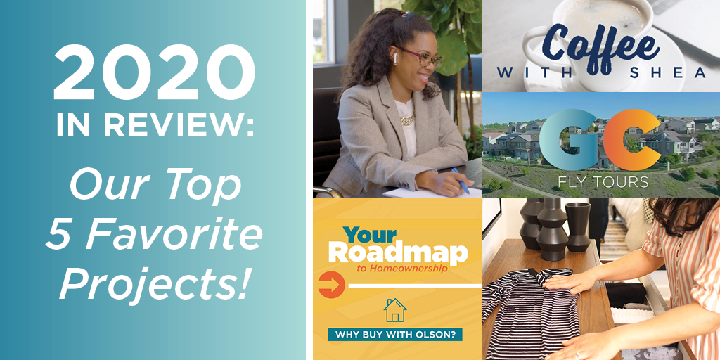 2020 In Review: Our Top 5 Favorite Projects!